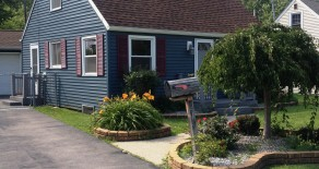RENTAL PENDING – AMHERST:  Cute 3 Bedroom Cape Cod-style Home, Sweethome Schools!